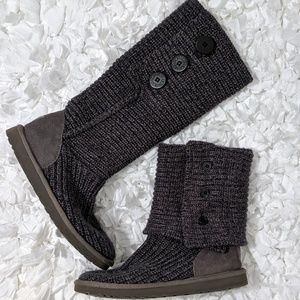 UGG Classic Cardy II Knit Boots